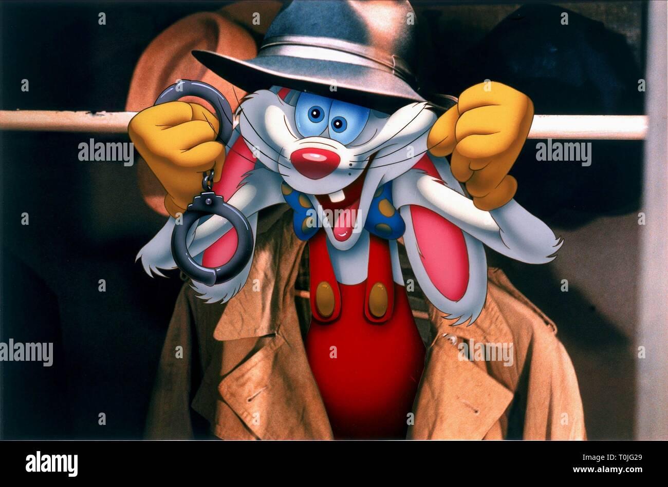 Roger Rabbit Who Framed Roger Rabbit 1988 Stock Photo Alamy