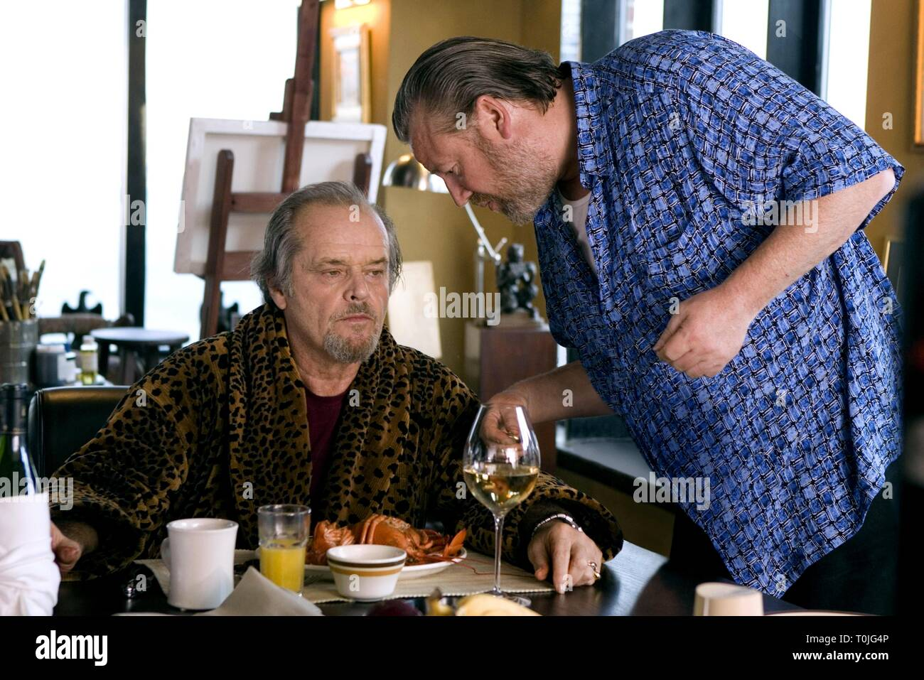 Jack Nicholson Ray Winstone The Departed 2006 Stock Photo Alamy Still, earlier this season, nicholson and his son were also in their seats to watch the lakers, in a winning effort against the minnesota timberwolves. https www alamy com jack nicholson ray winstone the departed 2006 image241352966 html
