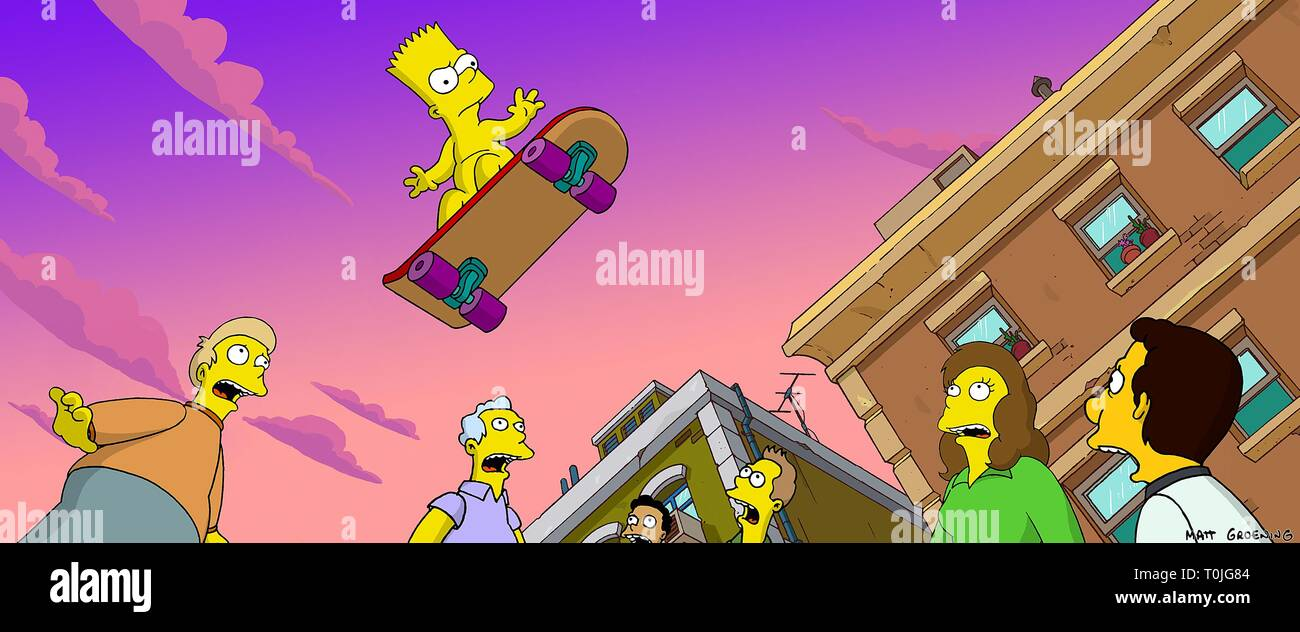 Bart Simpson Movie High Resolution Stock Photography And Images Alamy