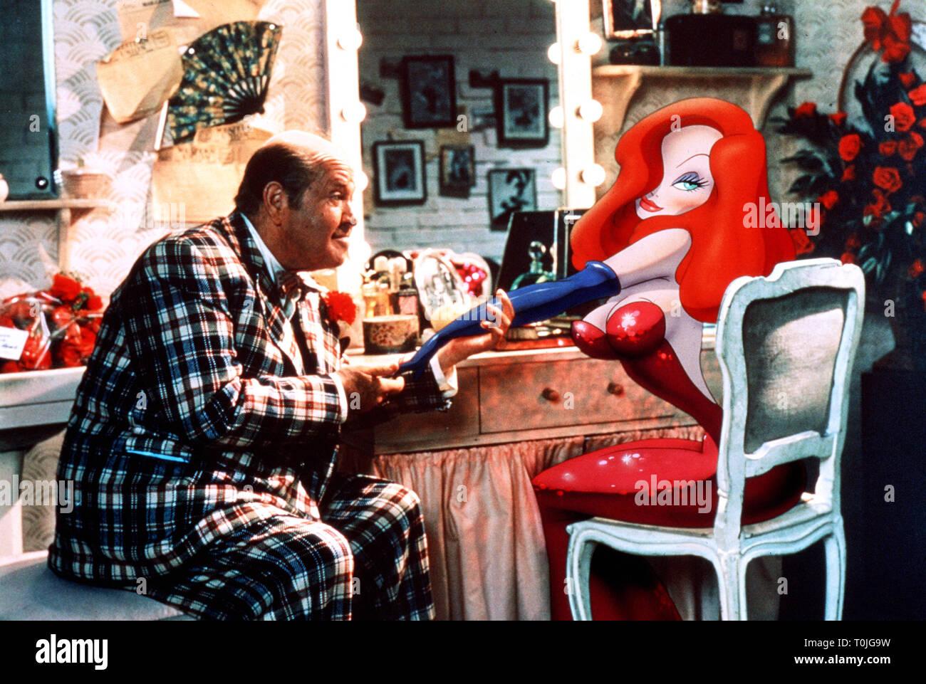 Stubby Kaye Jessica Rabbit Who Framed Roger Rabbit 1988 Stock Photo Alamy