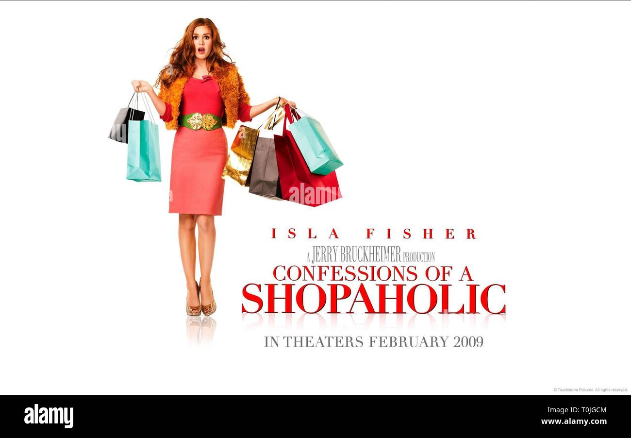ISLA FISHER POSTER, CONFESSIONS OF A SHOPAHOLIC, 2009 - Stock Image