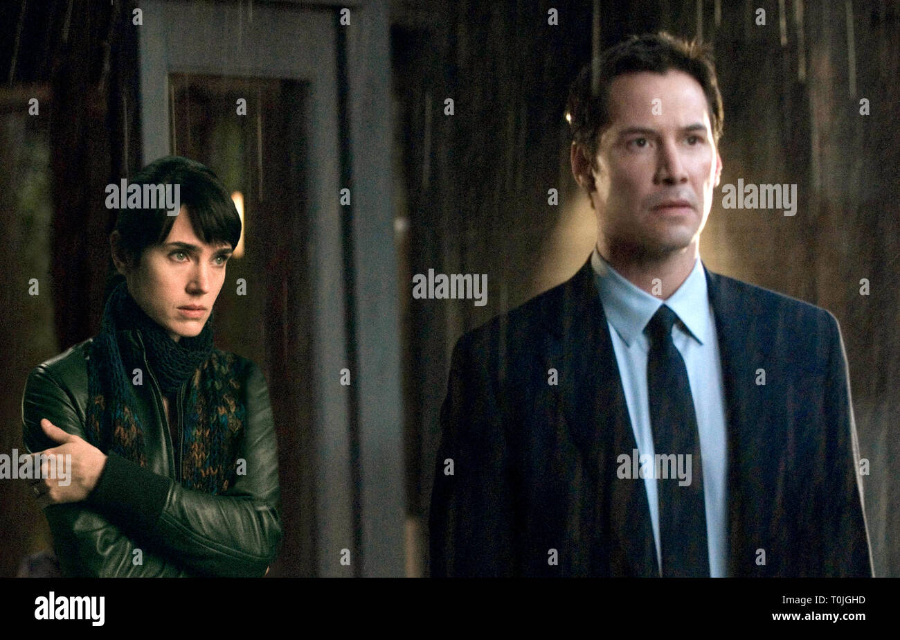 Jennifer Connelly Keanu Reeves The Day The Earth Stood Still 2008 Stock Photo Alamy