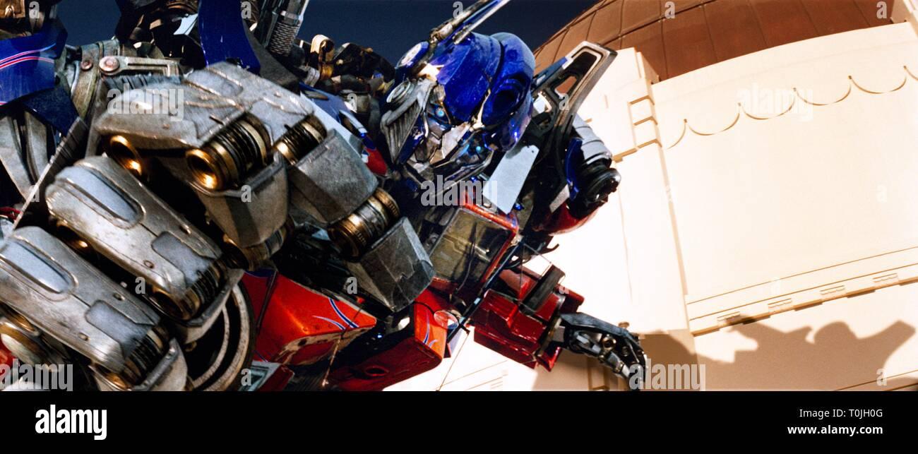 Optimus Prime Transformers 2007 Stock Photo Alamy