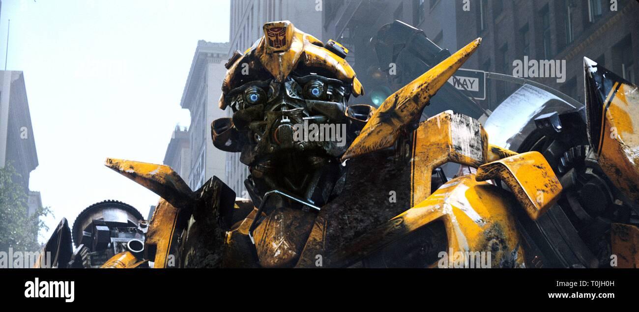 Bumblebee Transformers 2007 Stock Photo Alamy