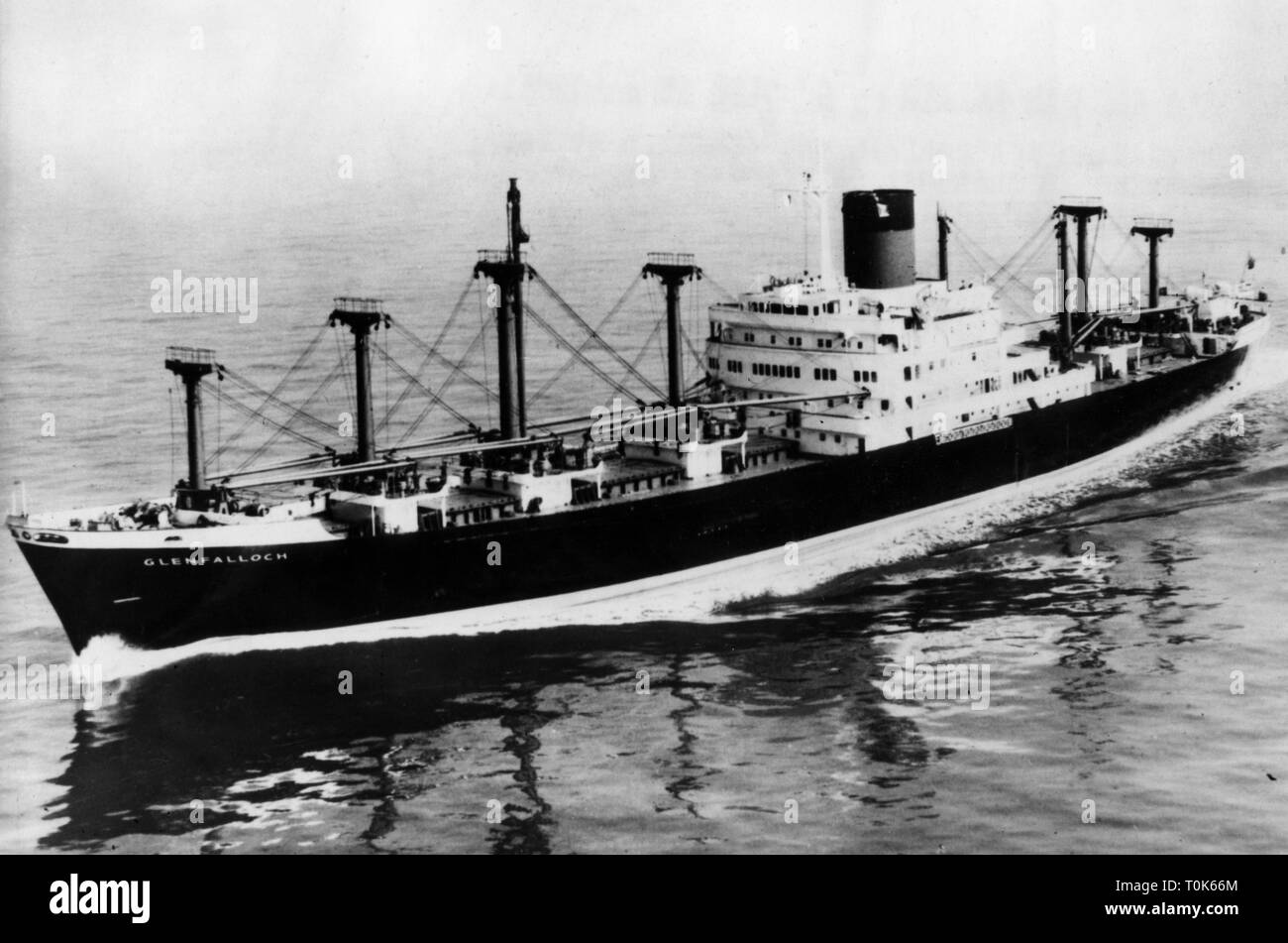 """geography / travel, China, politics, the British ship """"Glenfalloch"""", detained by the Chinese on 2.3.1970, Additional-Rights-Clearance-Info-Not-Available Stock Photo"""