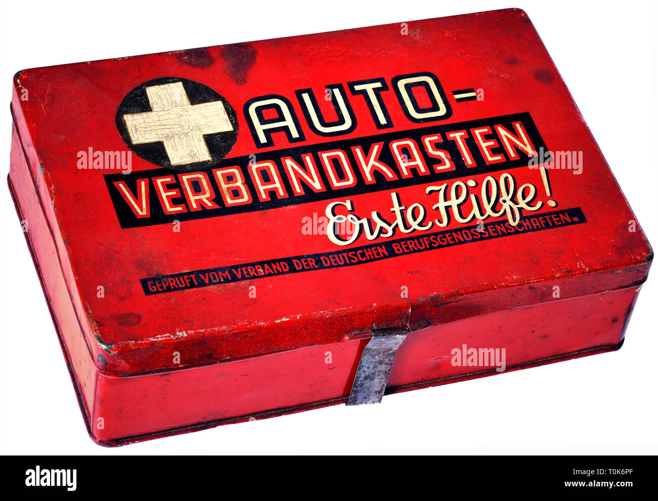 transport / transportation, car, accessory, car first aid box, Germany, circa 1952, Additional-Rights-Clearance-Info-Not-Available - Stock Image