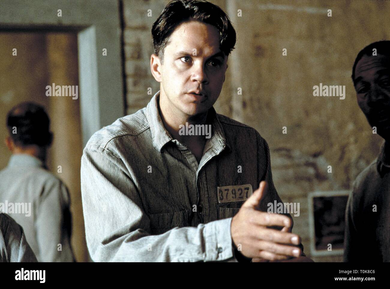 TIM ROBBINS, THE SHAWSHANK REDEMPTION, 1994 - Stock Image