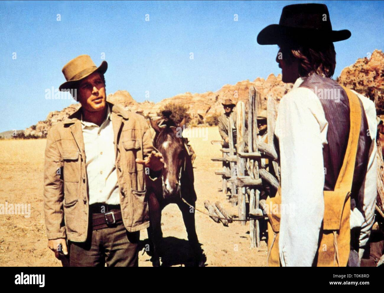 PAUL NEWMAN, BUTCH CASSIDY AND THE SUNDANCE KID, 1969 - Stock Image