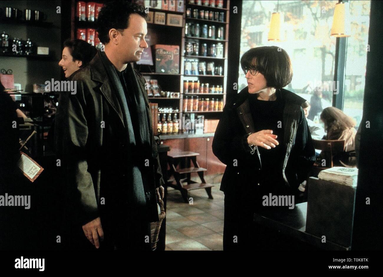 Tom Hanks Nora Ephron You Ve Got Mail 1998 Stock Photo Alamy