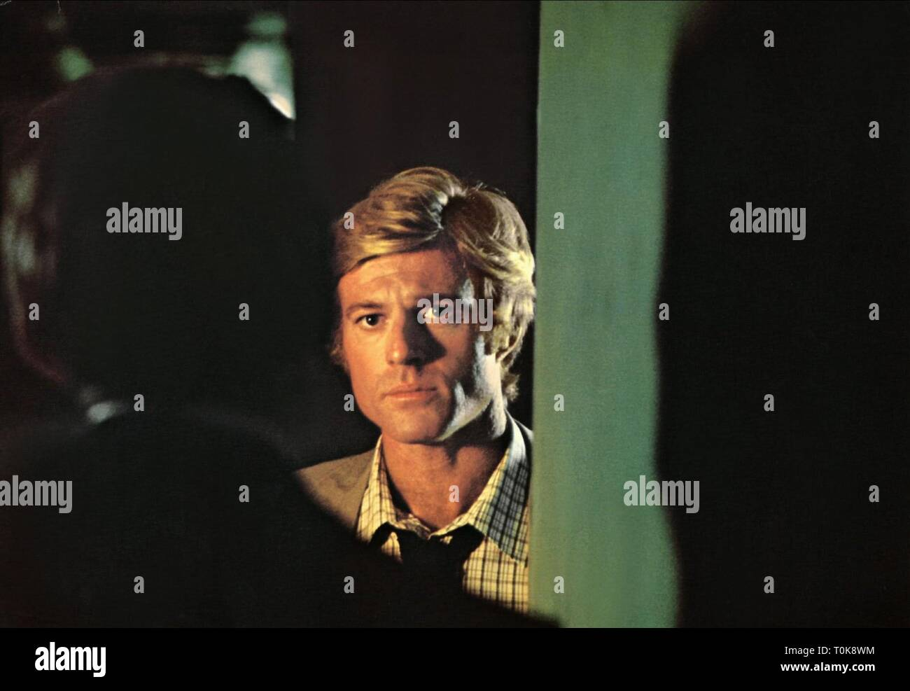 HAL HALBROOK, ROBERT REDFORD, ALL THE PRESIDENT'S MEN, 1976 - Stock Image