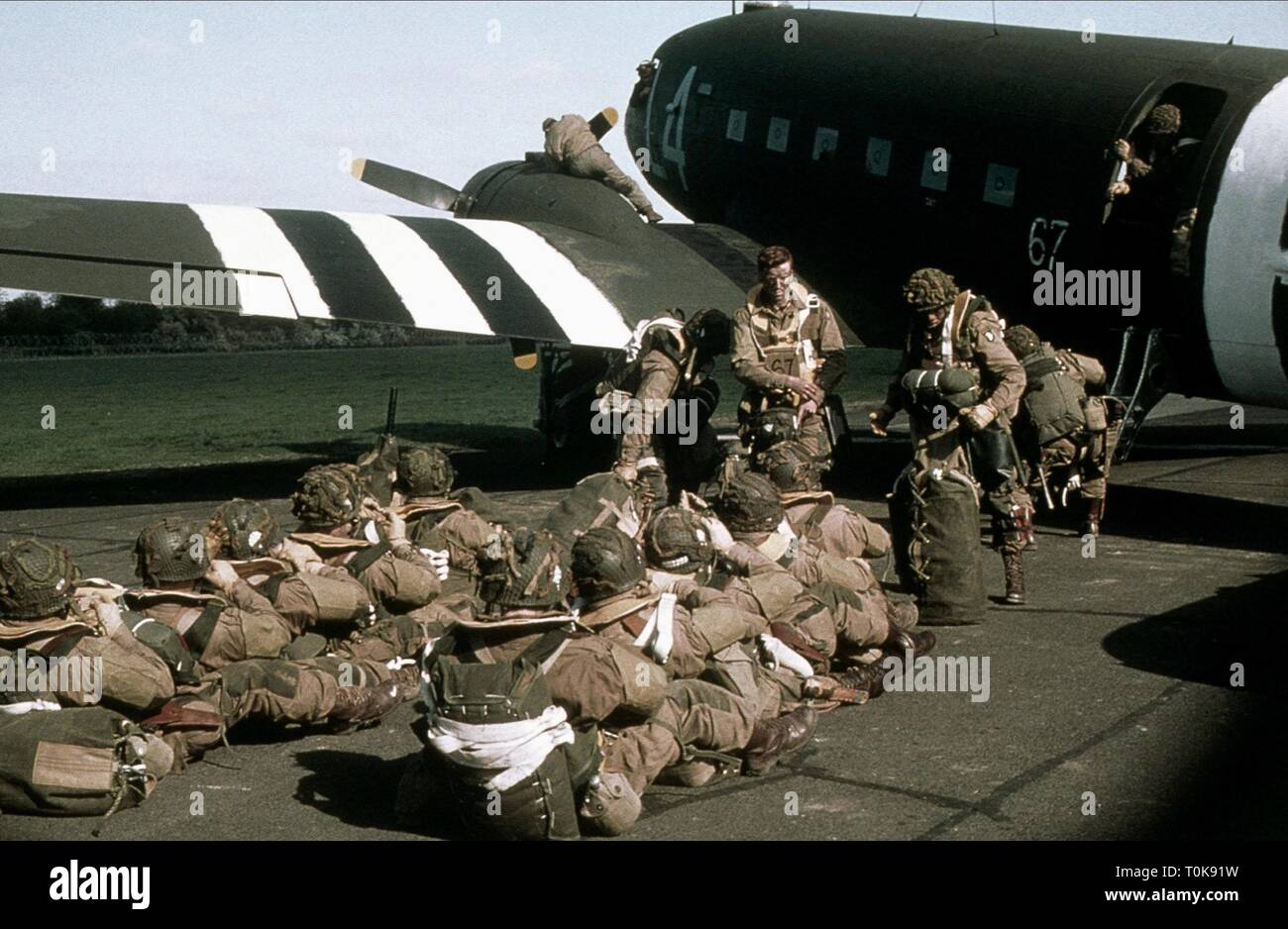 DAMIAN LEWIS, BAND OF BROTHERS, 2001 - Stock Image