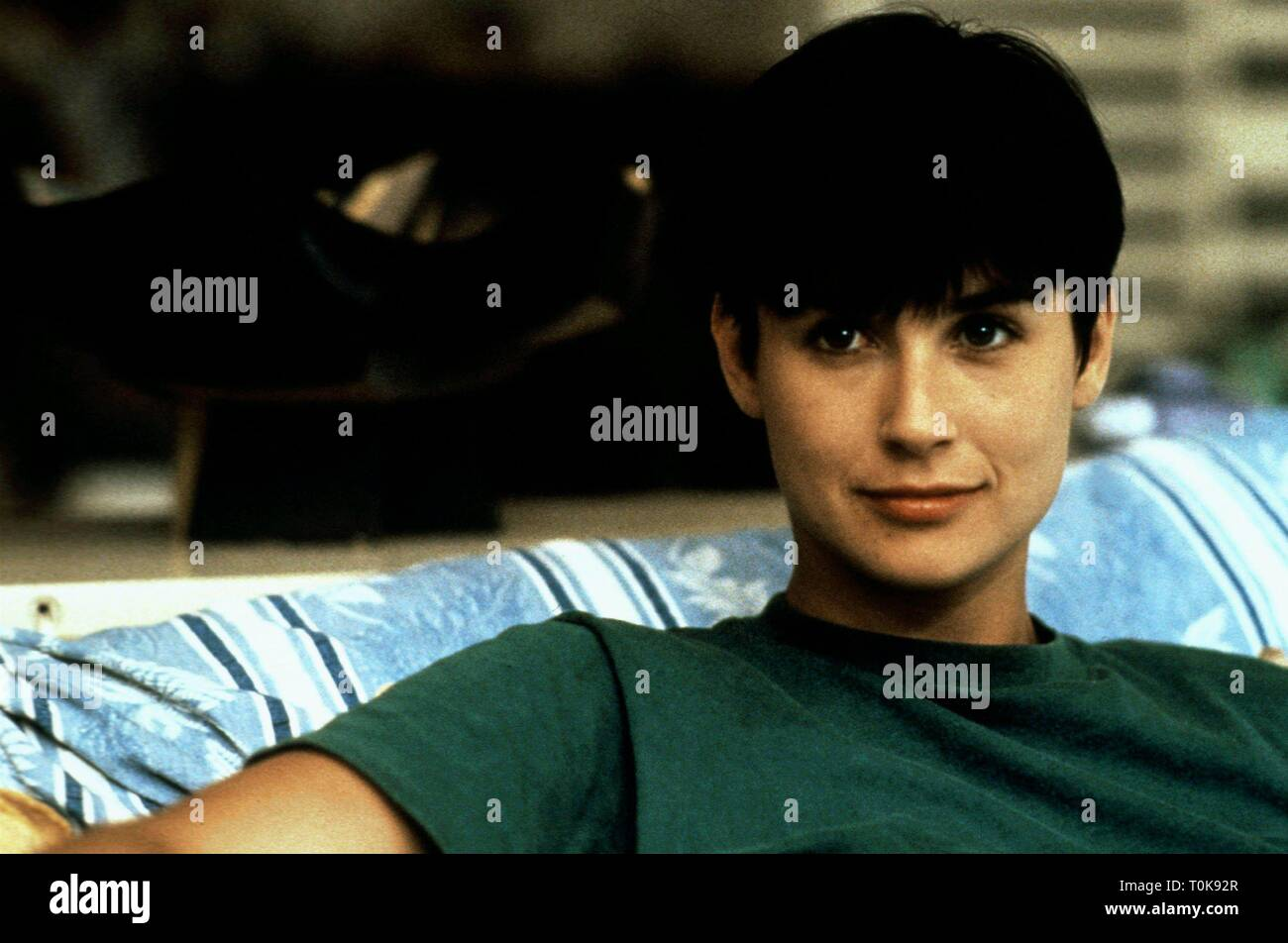 Demi Moore Ghost 1990 Stock Photo Alamy