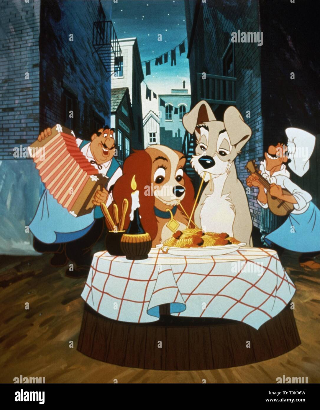 Lady Tramp Lady And The Tramp 1955 Stock Photo Alamy