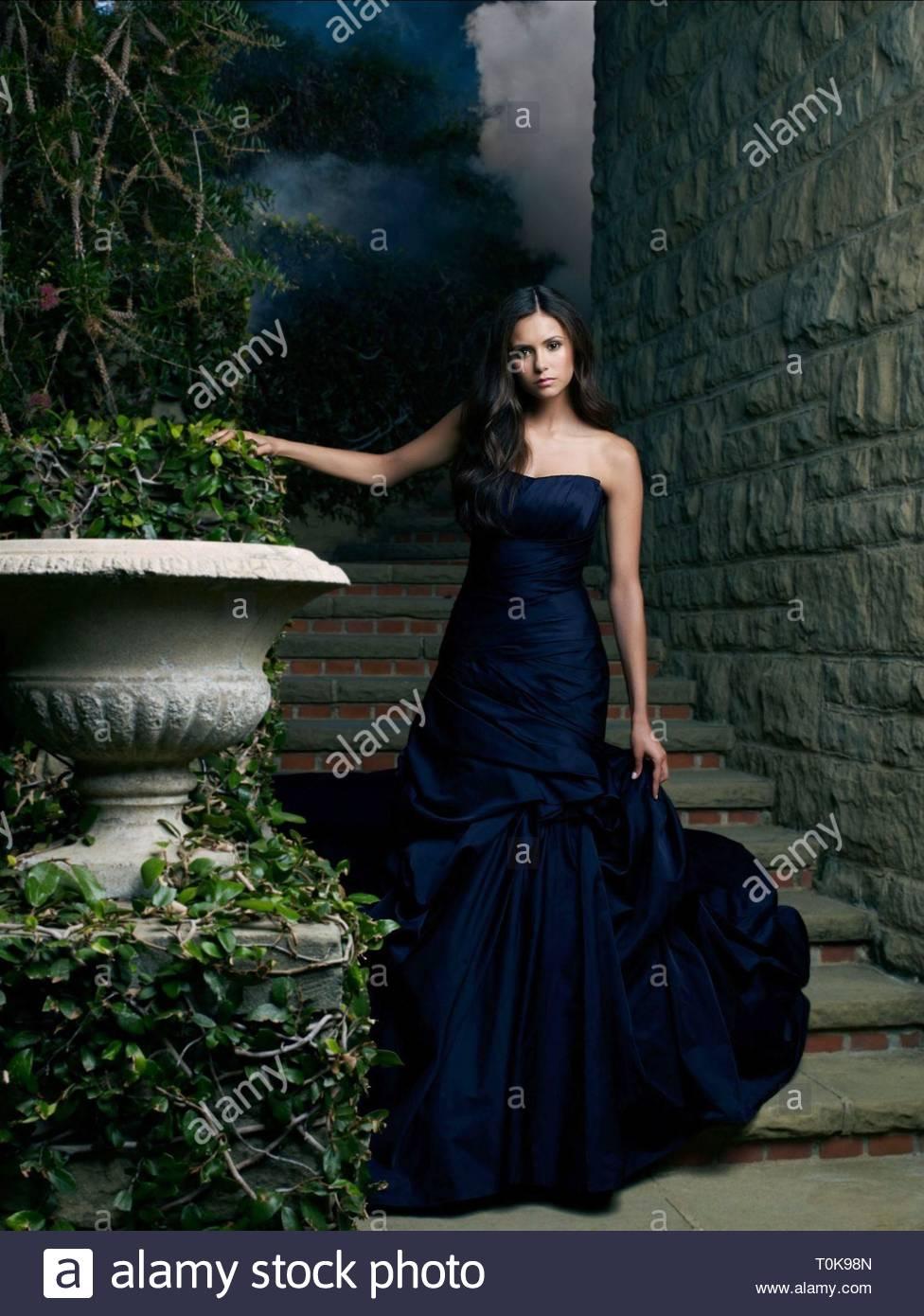 NINA DOBREV, THE VAMPIRE DIARIES : SEASON 1, 2009 - Stock Image