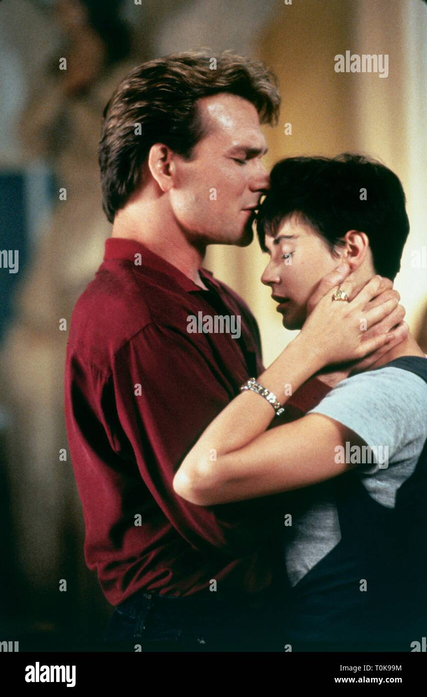 Patrick Swayze Demi Moore Ghost 1990 Stock Photo Alamy