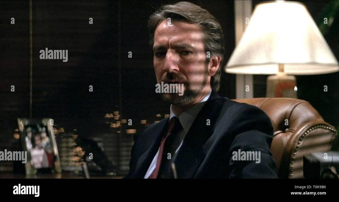 ALAN RICKMAN, DIE HARD, 1988 - Stock Image