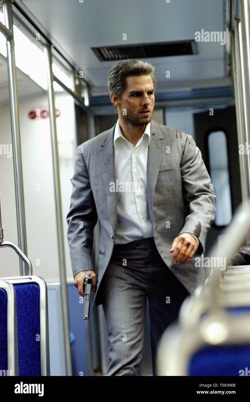 Tom Cruise Collateral 2004 Stock Photo Alamy