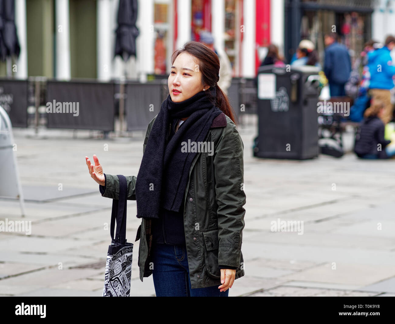 Tourist visitor, City Of Bath , England, UK - Stock Image