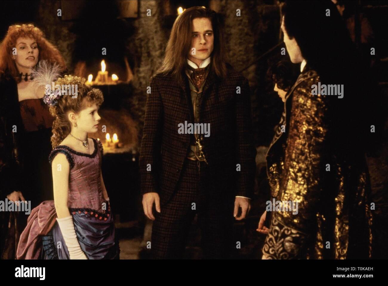 Kirsten Dunst Brad Pitt Antonio Banderas Interview With The Vampire The Vampire Chronicles 1994 Stock Photo Alamy