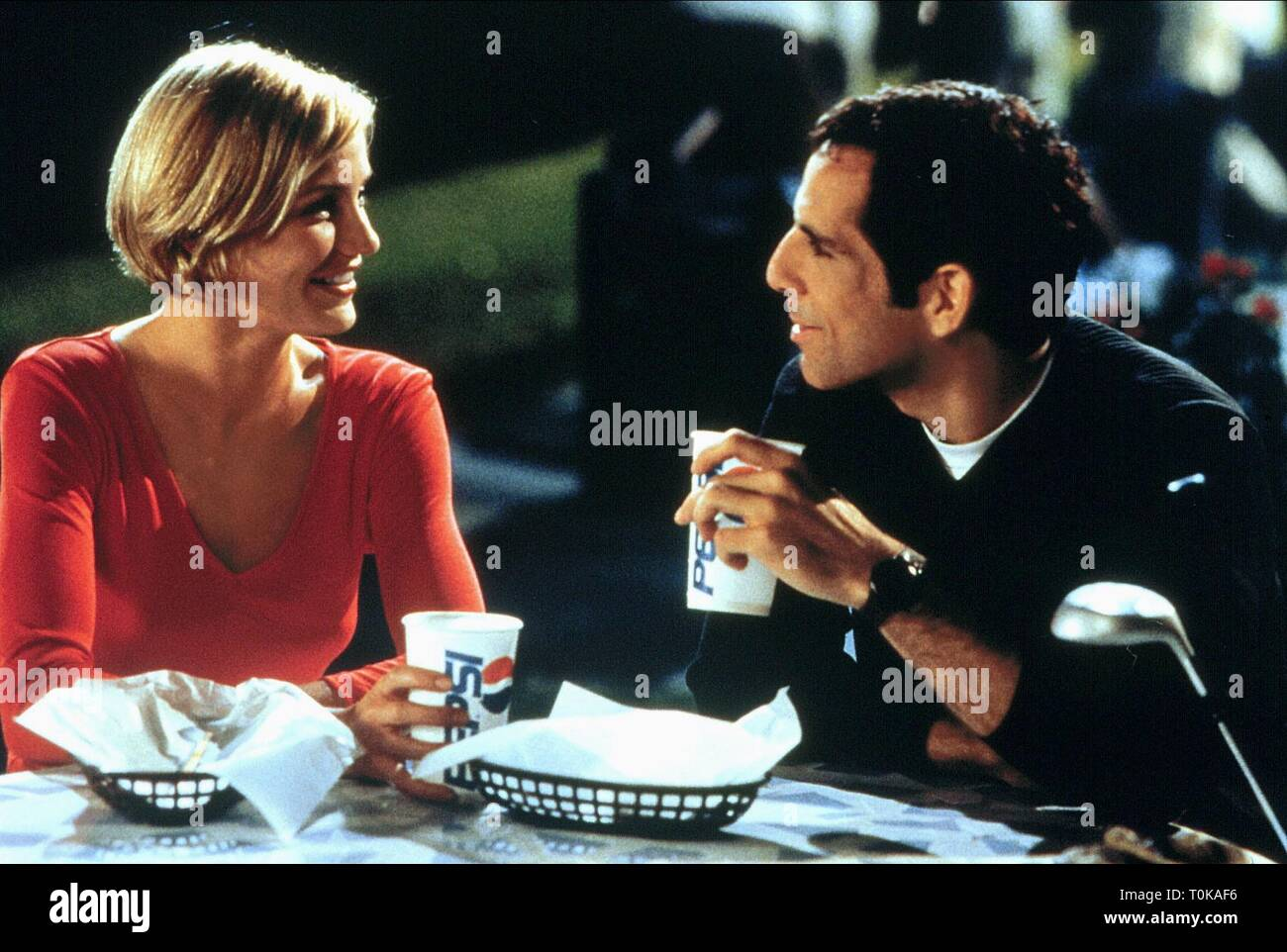CAMERON DIAZ, BEN STILLER, THERE'S SOMETHING ABOUT MARY, 1998 - Stock Image