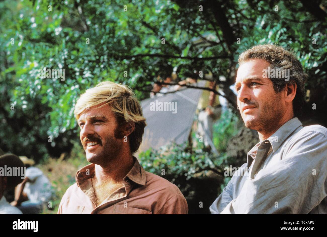 ROBERT REDFORD, PAUL NEWMAN, BUTCH CASSIDY AND THE SUNDANCE KID, 1969 - Stock Image