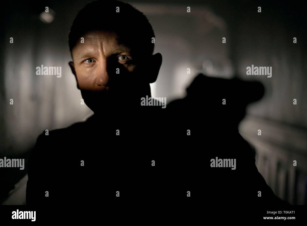 DANIEL CRAIG,  SKYFALL, 2012 - Stock Image
