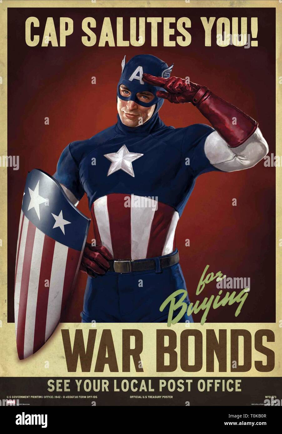 Chris Evans Captain America The First Avenger 2011 Stock Photo Alamy