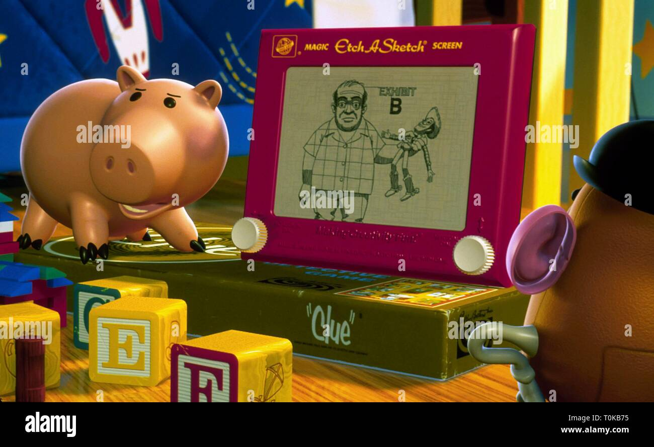 HAMM THE PIGGY BANK, TOY STORY 2, 1999 - Stock Image