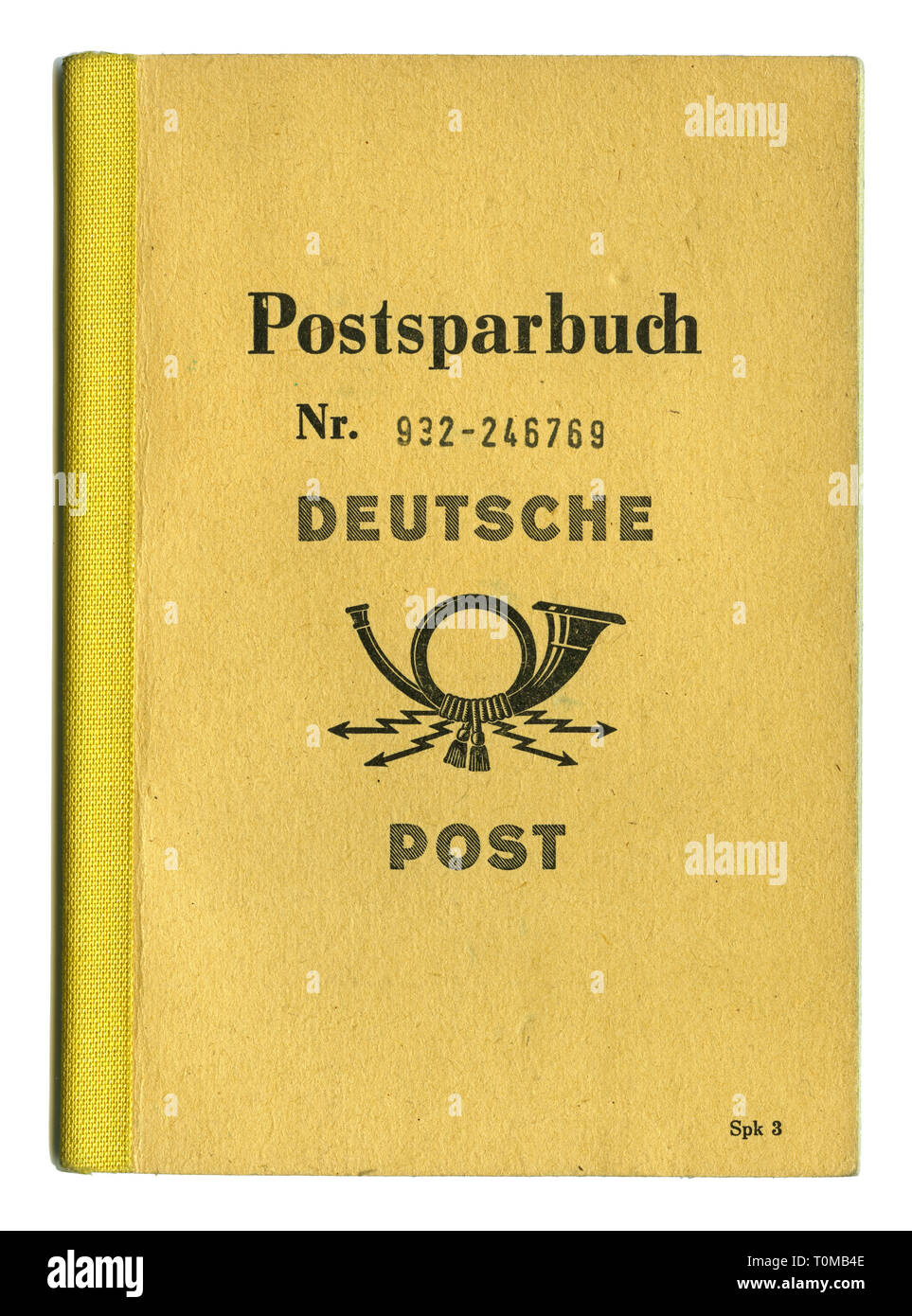 mail, postal savings book, East-Germany, 1972, Additional-Rights-Clearance-Info-Not-Available Stock Photo
