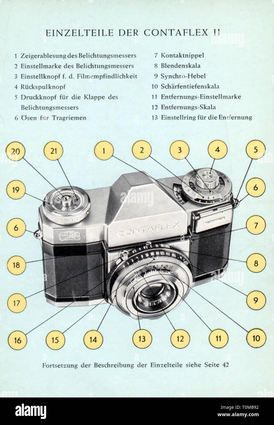 1950s Cameras Stock Photos & 1950s Cameras Stock Images
