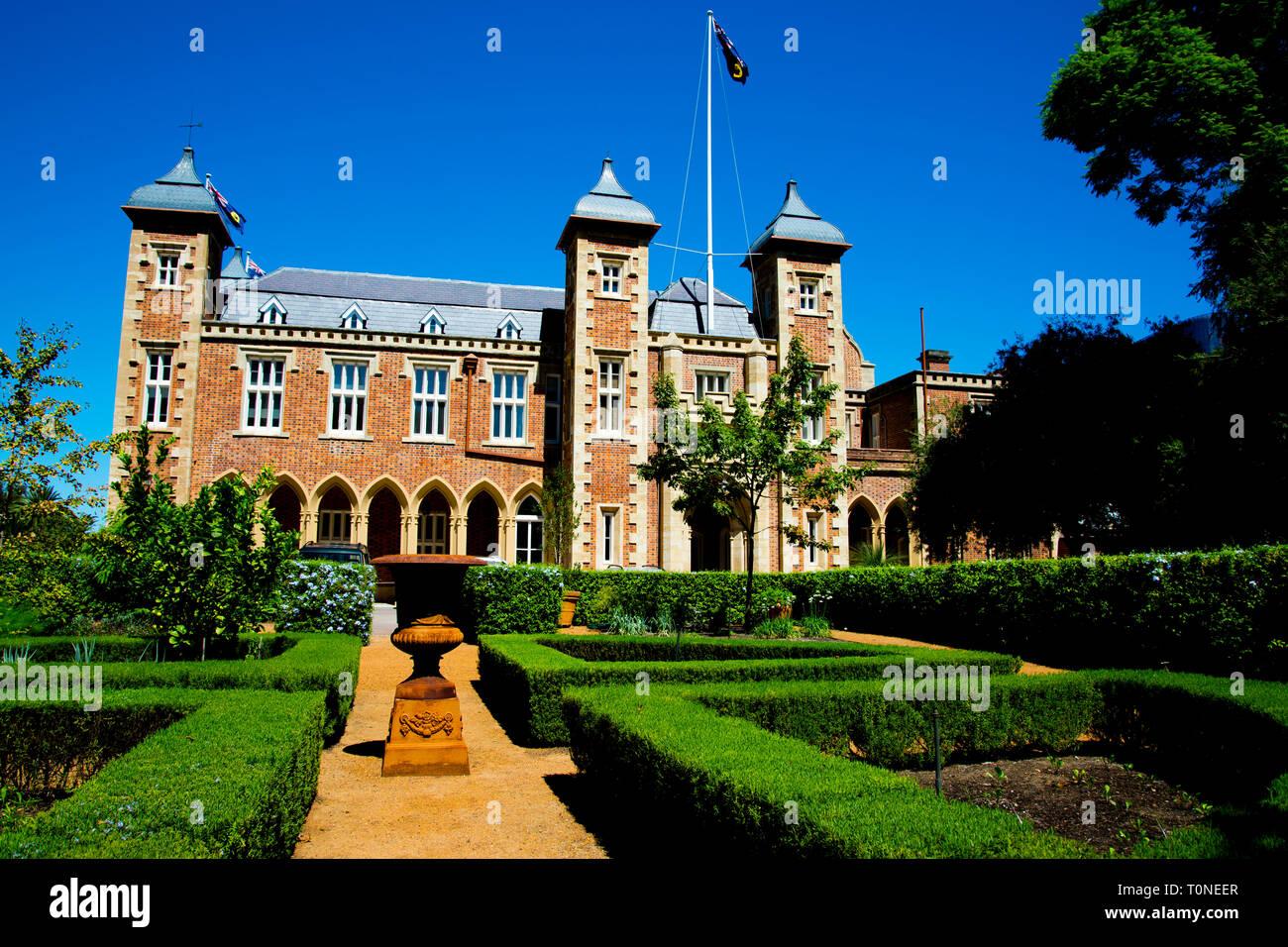 Government House - Perth - Australia Stock Photo