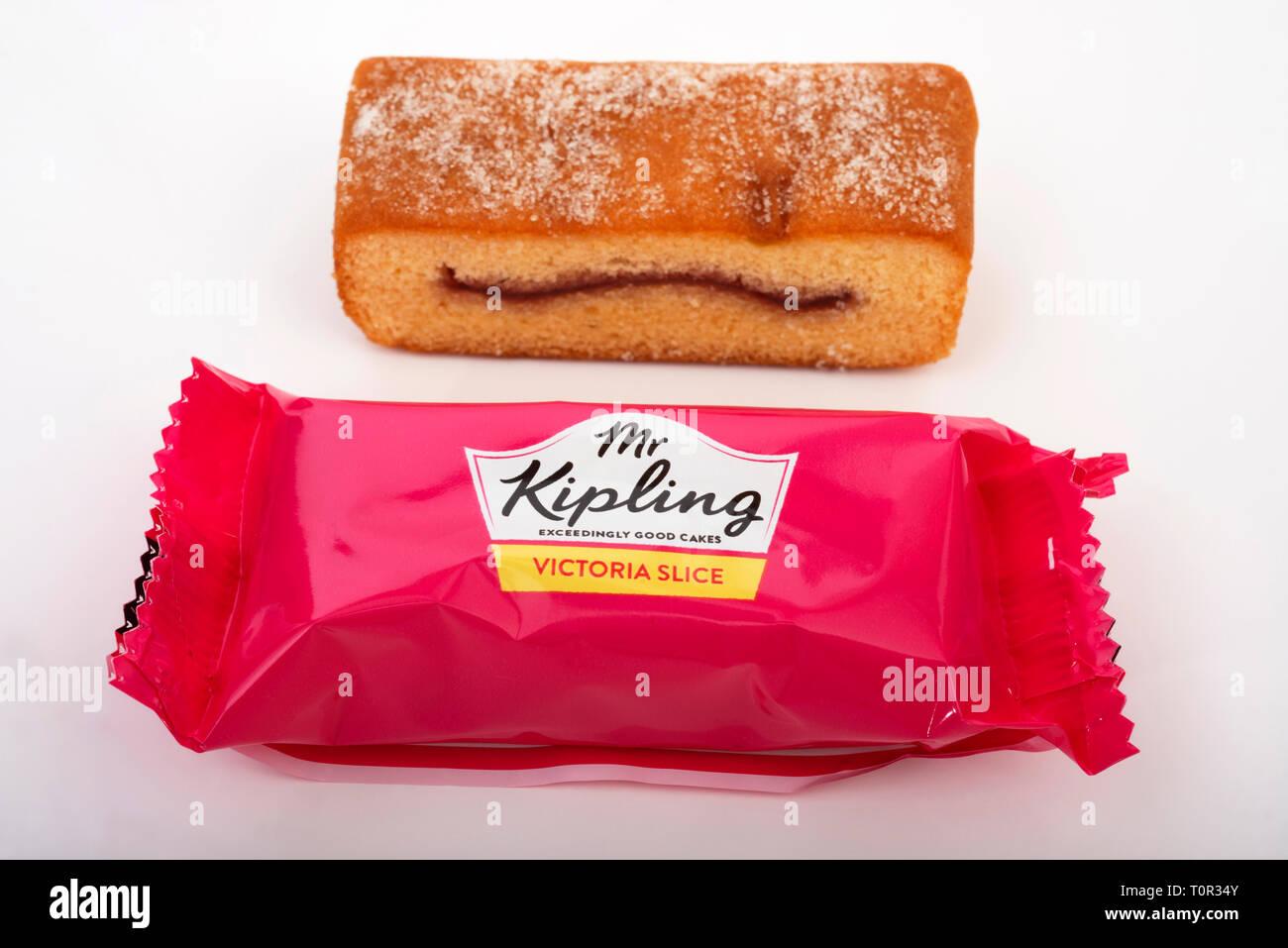 Mr Kipling Victoria Slice - Stock Image