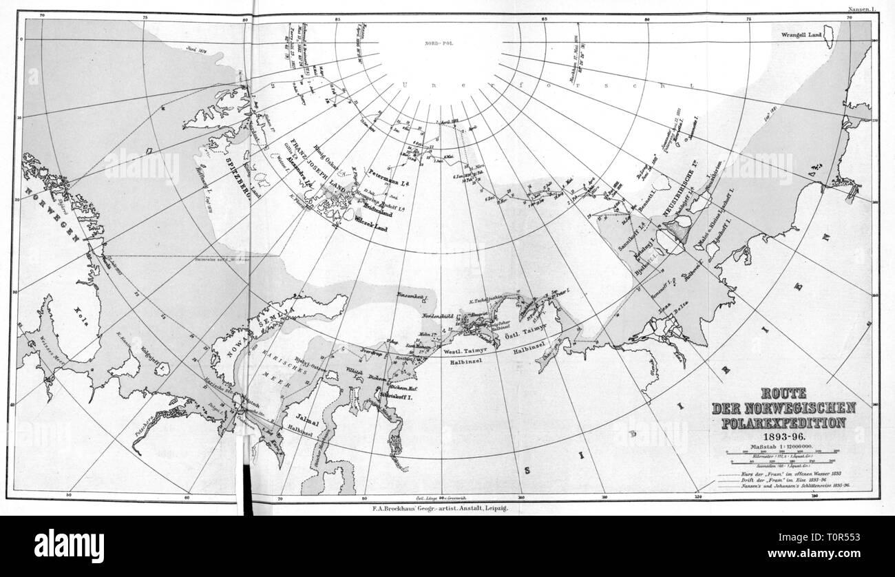 Nordpolarmeer Karte.Arctic Ocean Map Stock Photos Arctic Ocean Map Stock Images Alamy