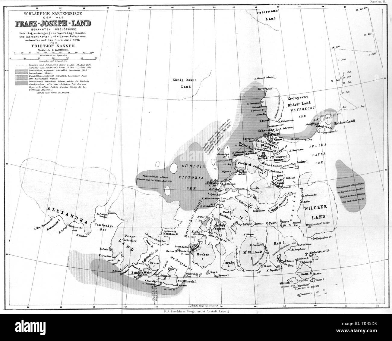 Nordpolarmeer Karte.Arctic Ocean Map Black And White Stock Photos Images Alamy