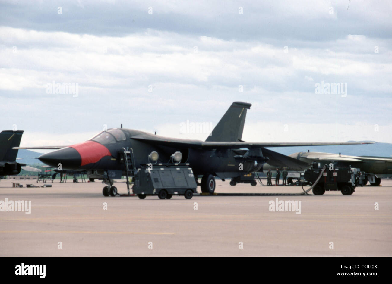 USAF United States Air Force General Dynamics FB-111A Aardvark - Stock Image