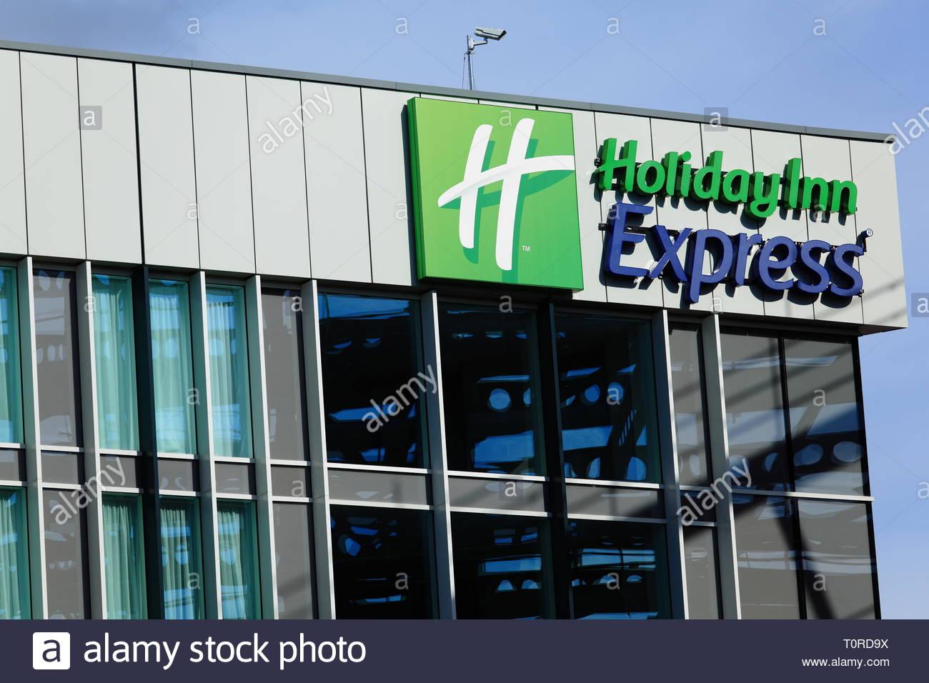 Holiday Inn Express at Stockport UK - Stock Image