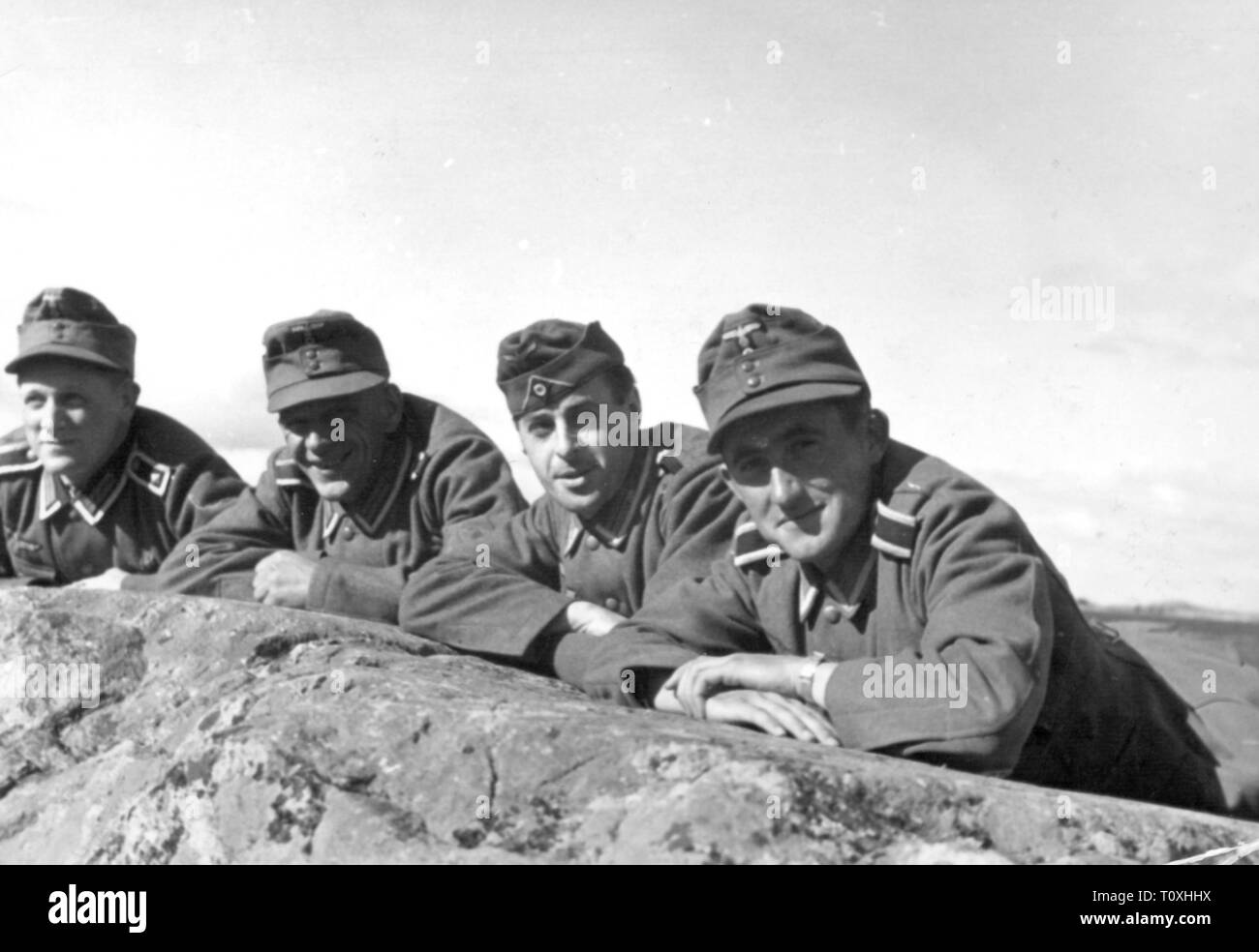 Second World War / WWII, German Wehrmacht, group of army non