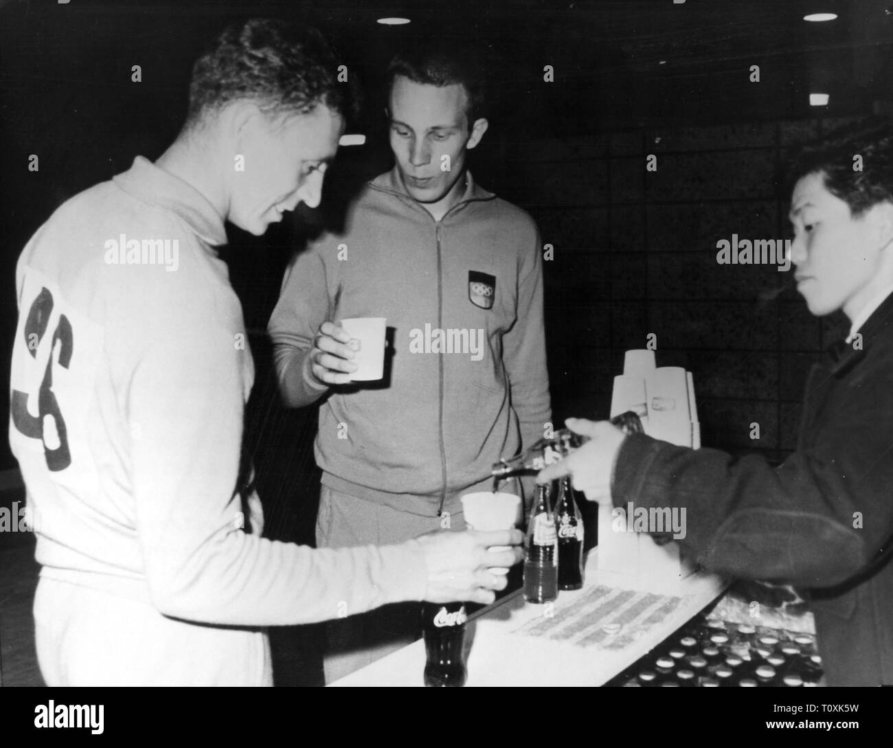 sports, Olympic Games, Tokyo 10.10. - 24.10.1964, Additional-Rights-Clearance-Info-Not-Available - Stock Image