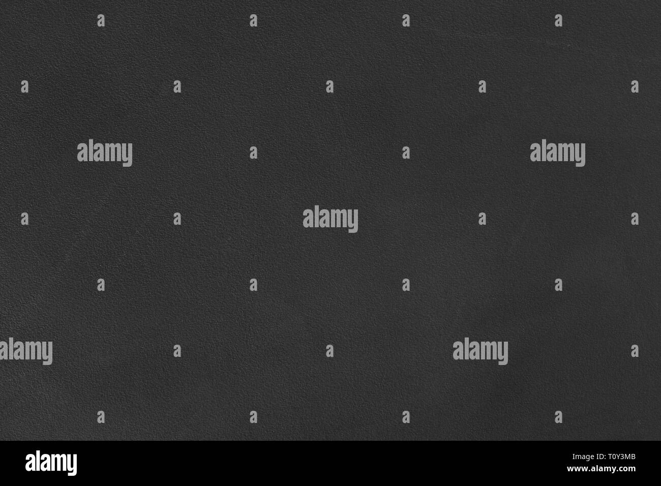 Black leather texture detailed background close up. - Stock Image