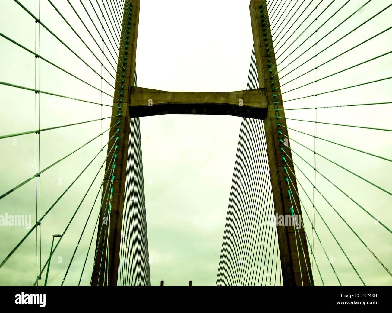 Server Bridge Wales Stock Photo