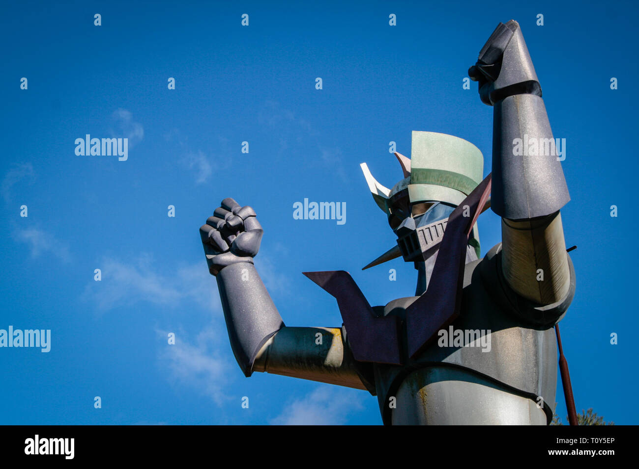 Robot Mazinger Z Stock Photos & Robot Mazinger Z Stock