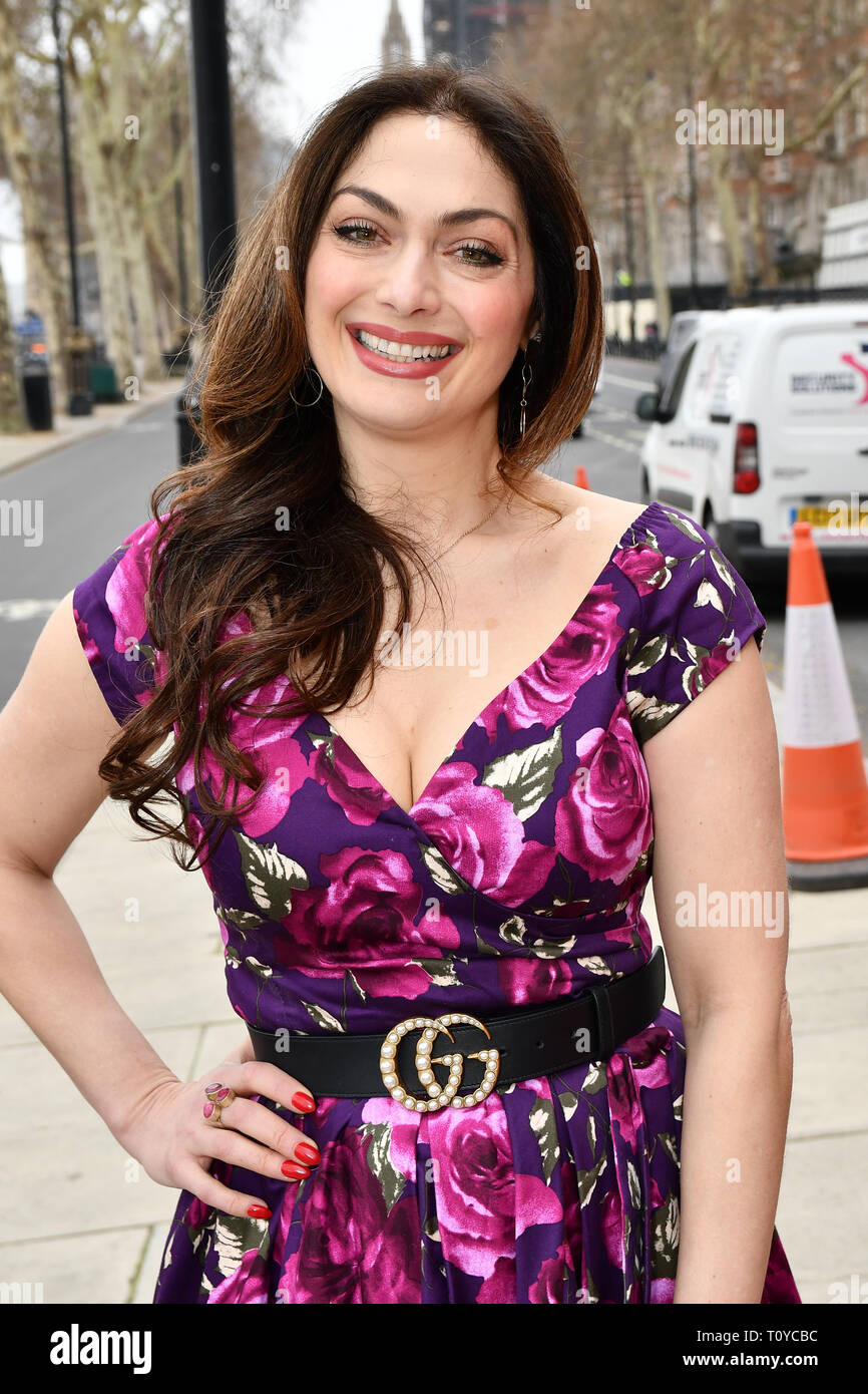 London, UK. 22nd Mar, 2019. Tonia Buxton attend Celeb Bri Tea, on board the BB Bakery bus on 22 March 2019, London, UK. Credit: Picture Capital/Alamy Lie News Stock Photo