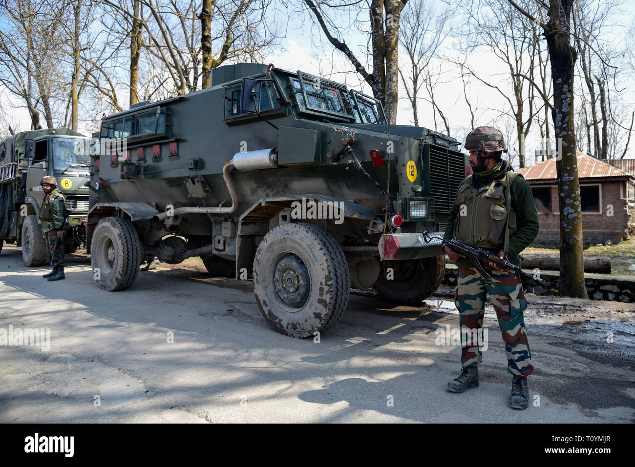 Army Vehicle India High Resolution Stock Photography And Images Alamy