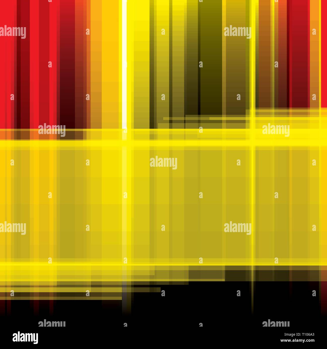 Striped Abstract Background In Yellow Red And Black Dolors