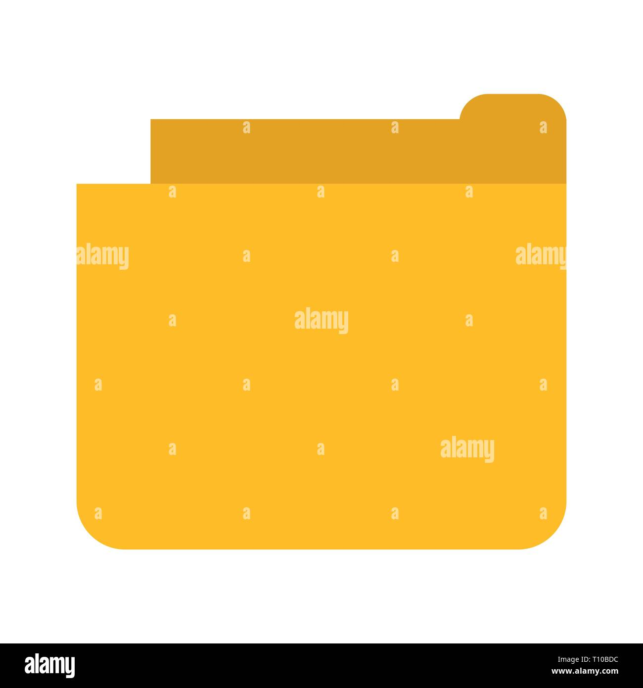 Vector Folder Icon Stock Photo