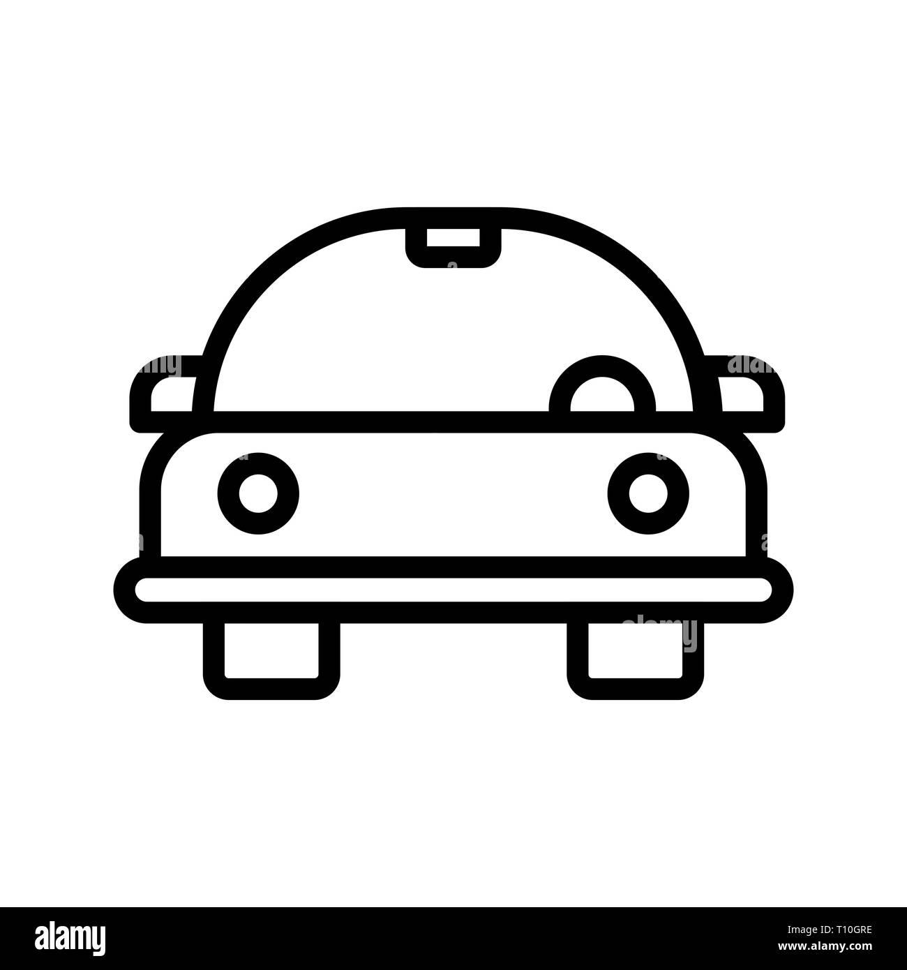 cartoon car line drawing