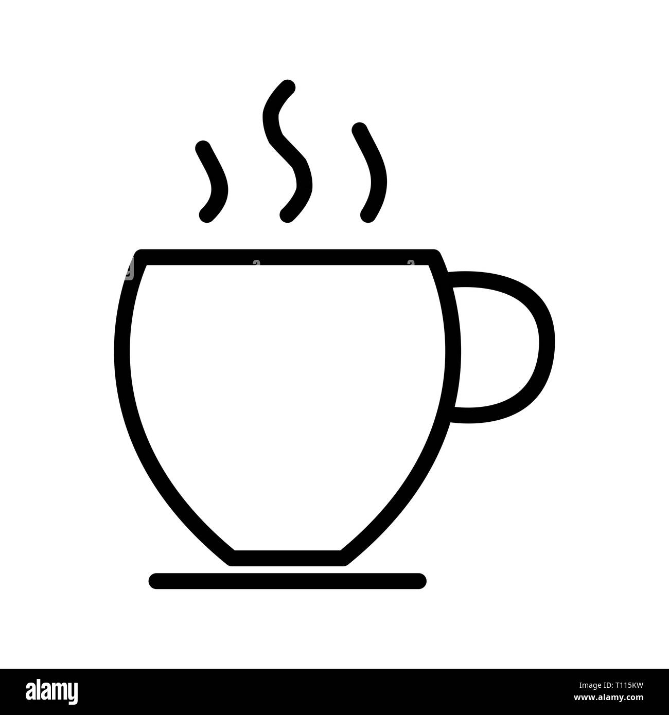 Vector Tea Icon - Stock Image