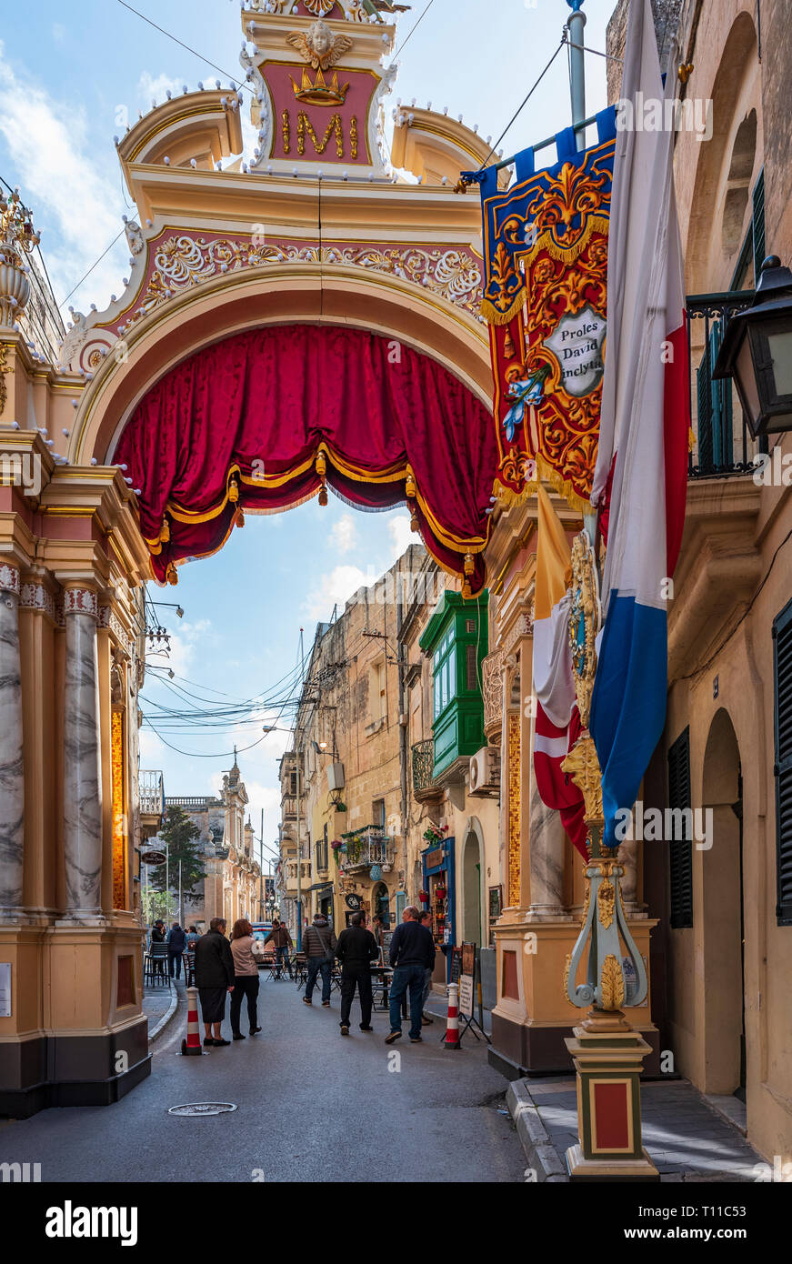 RABAT, MALTA Stock Photo