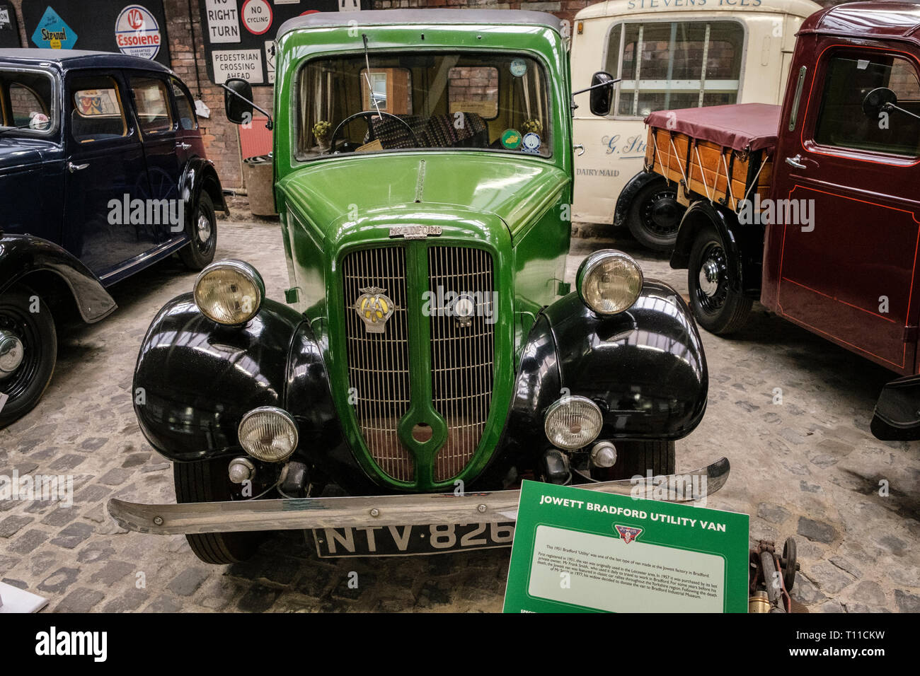 0f6678e274e7e1 A collection of Jowett Cars on display at Bradford Industrial Museum ...