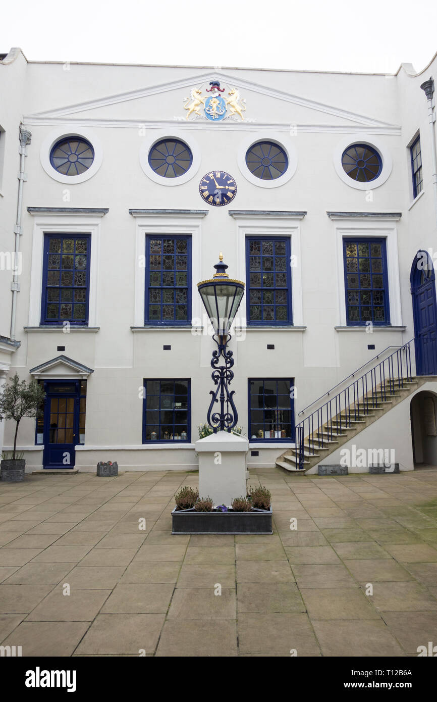 The Worshipful Company of Spectacle Makers, Apothecaries Hall, Black Friars Lane, London, EC4, UK - Stock Image